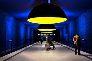 Munich, Westfriedhof U-Bahn by alierturk