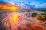 Hawaii, the fire on the water
