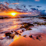 Hawaii, the first light