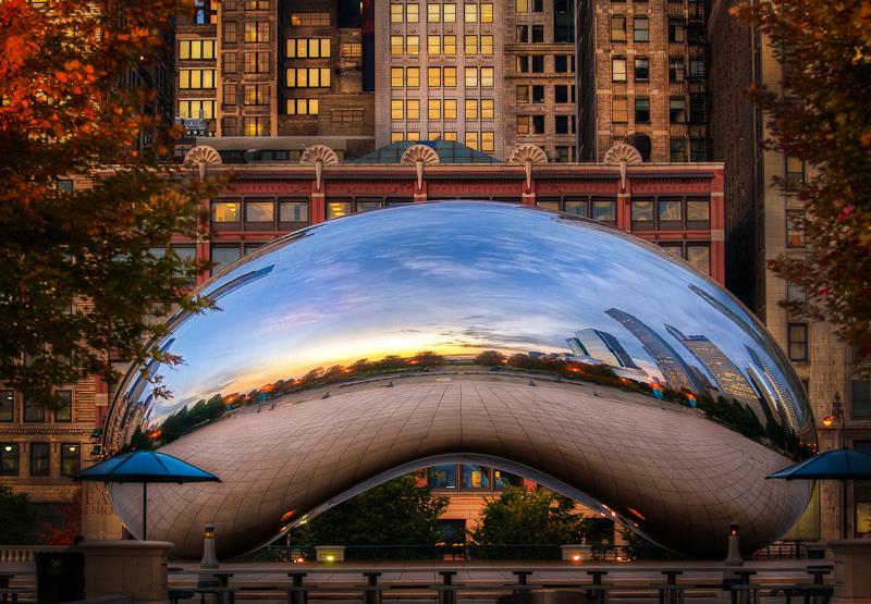 Chicago, the hidden bean by alierturk