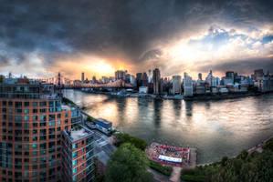 New York, Roosevelt Island by alierturk