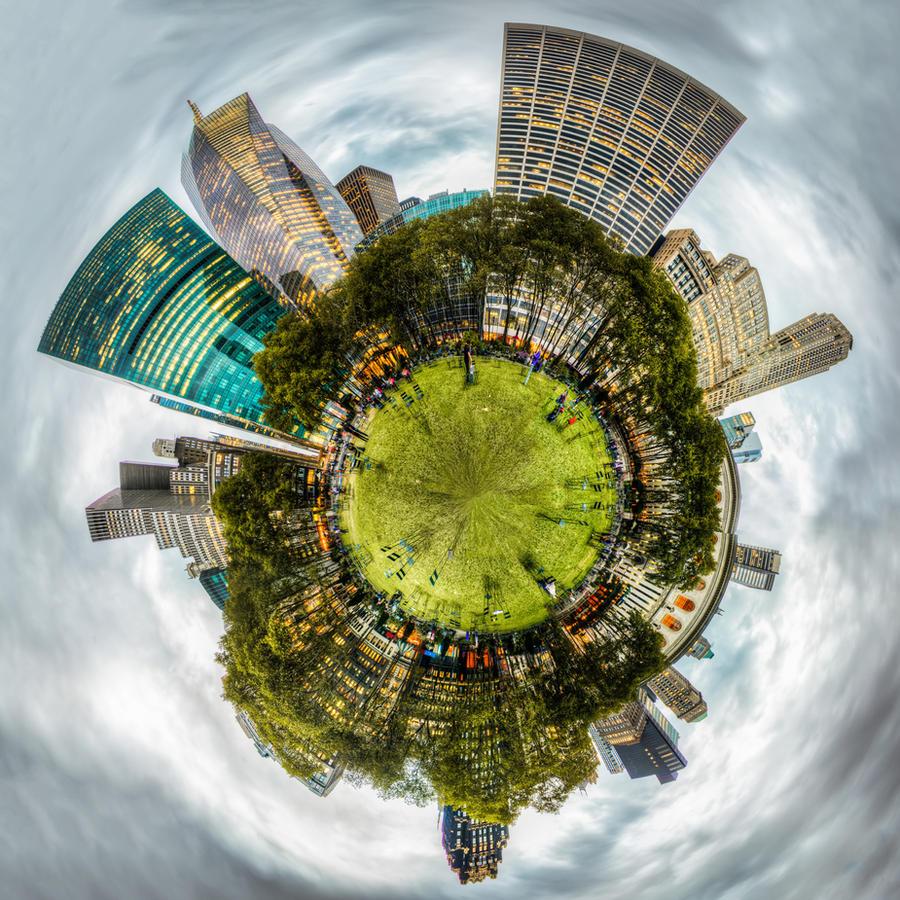 New York, Bryant Park by alierturk