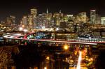 San Francisco, arrivals and departures