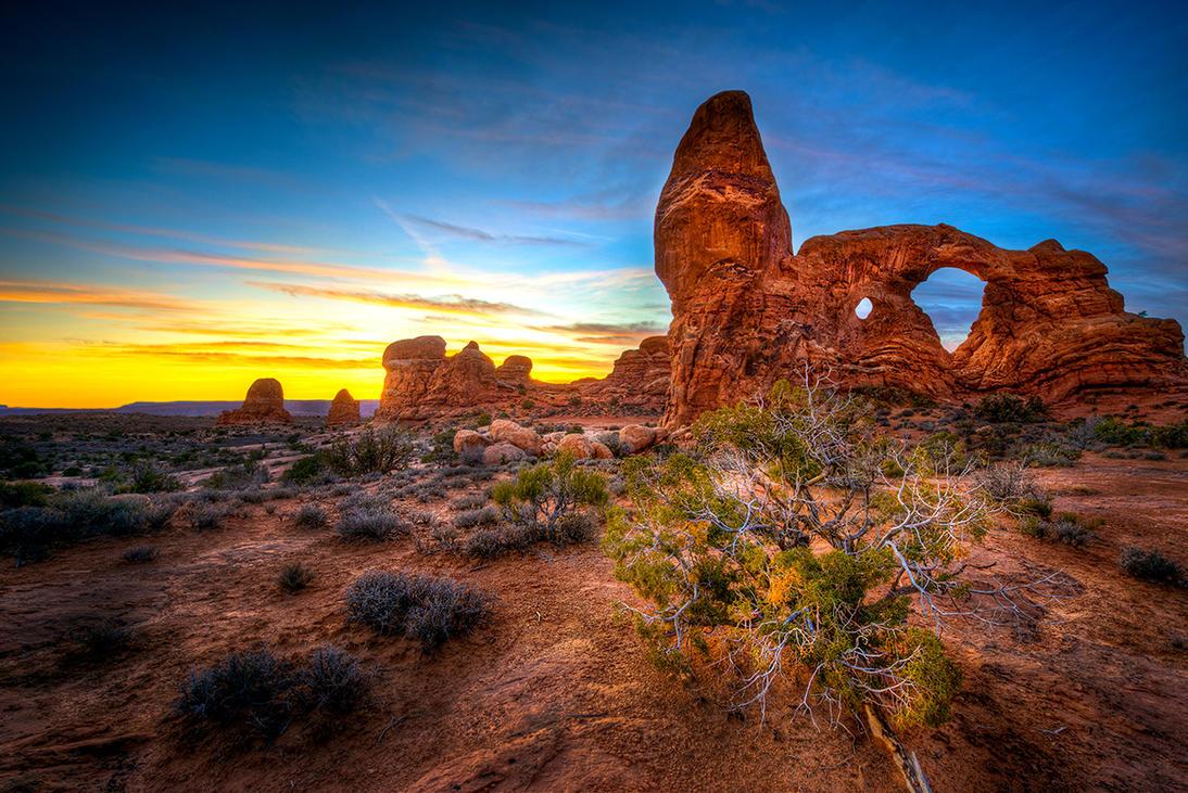 Arches National Park By Alierturk On Deviantart