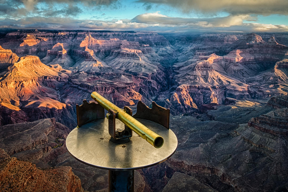 Grand Canyon, Macroscopy by alierturk