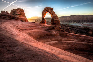 Arches National Park, Arc of Delicate Arch by alierturk