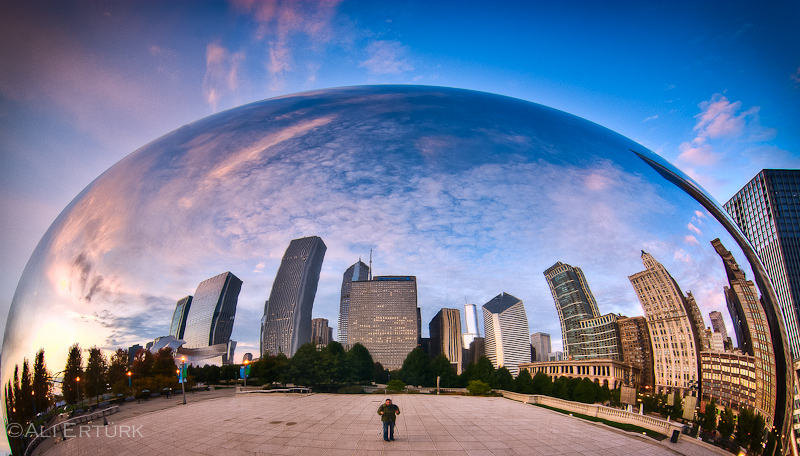 Chicago Bean, the eye by alierturk