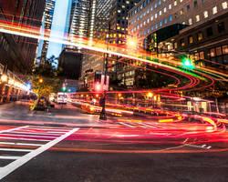 NYC, lefturn by alierturk