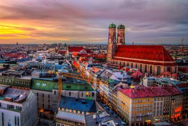 Munich, the green eyes by alierturk