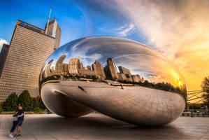 Chicago, The bean hug by alierturk