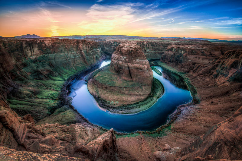 Horseshoe bend, the symbol by alierturk