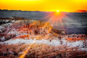 Bryce Canyon, sunrise  by alierturk
