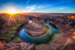 Horseshoe bend, enjoying life