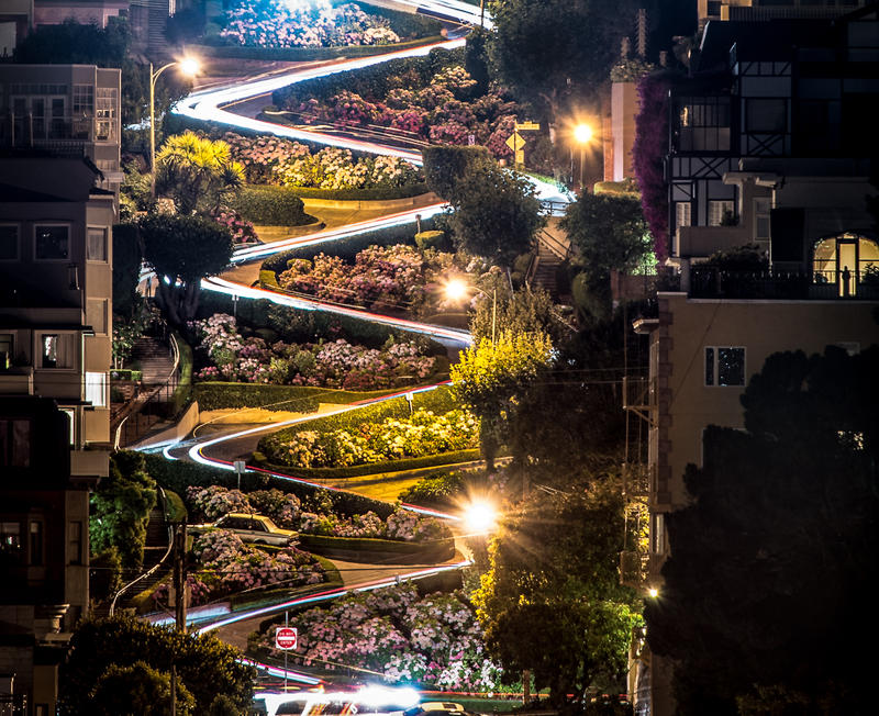 San Francisco, Lombard st. by alierturk