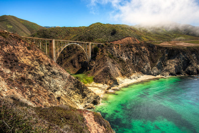 California, Bixby Bridge  by alierturk