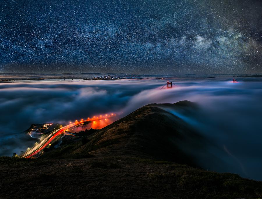 San Francisco, unseen night by alierturk