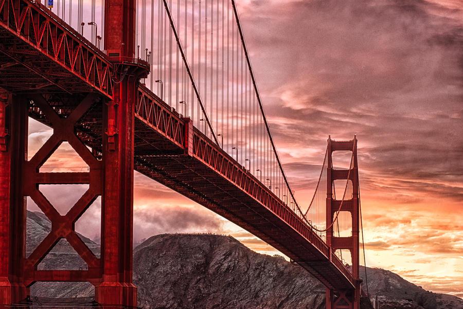 Golden Gate, symbol by alierturk