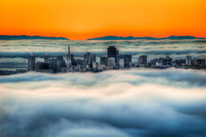 San Francisco, on clouds