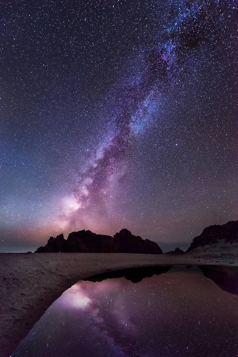 Reflection of the Galaxy