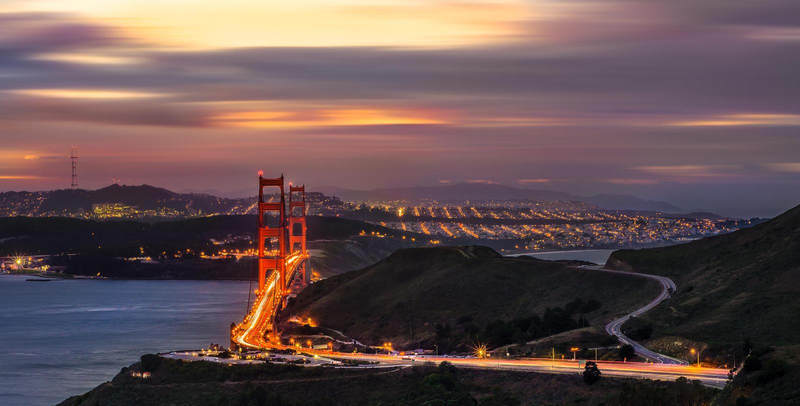 Magical morning | San Francisco by alierturk