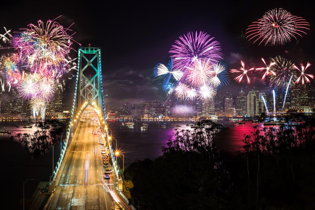 San Francisco, dream fireworks by alierturk