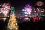 San Francisco, dream fireworks