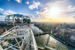London, by London eye