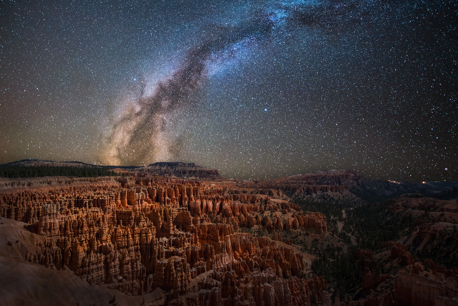 Bryce Canyon, Milky Way by alierturk