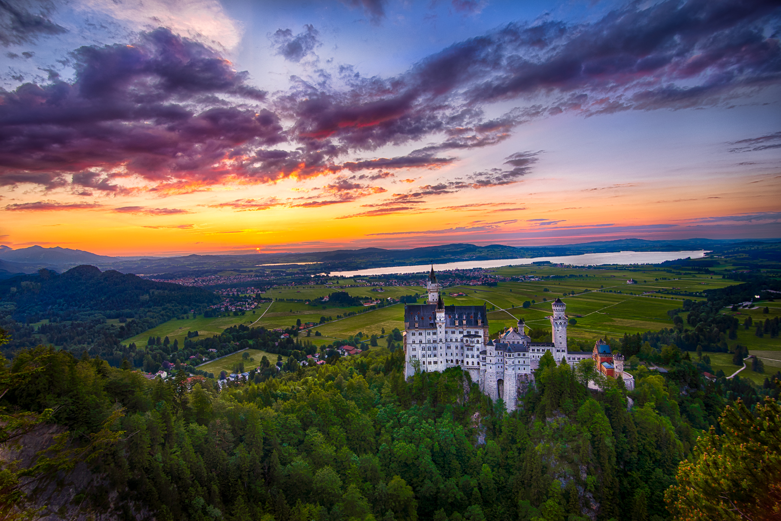 Neuschwanstein Castle, magical by alierturk
