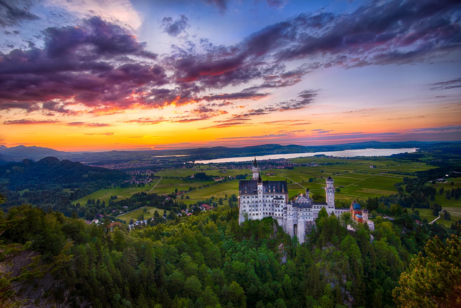 Neuschwanstein Castle, magical by alierturk