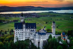 amazing Neuschwanstein Castle, Bavaria, Germany by alierturk