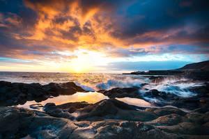 La Palma, before sunset by alierturk