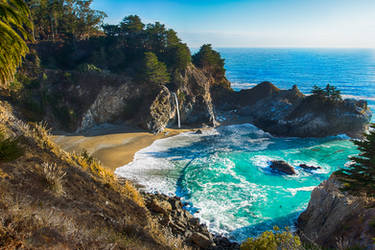bay Big Sur, California by alierturk