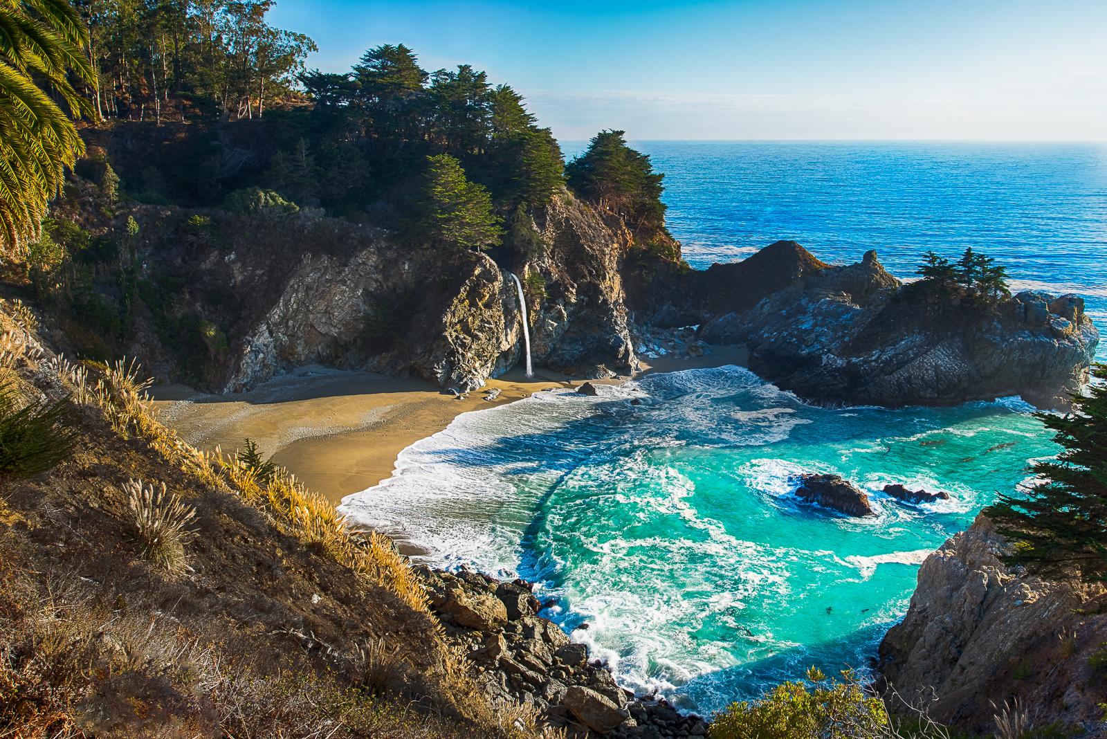 Bay Big Sur California By Alierturk On Deviantart