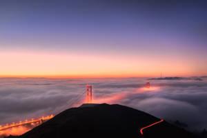 San Francisco, Golden Hour by alierturk
