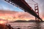 Golden Gate, underneath