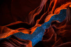 Antelope Canyon,magical and unseen night by alierturk