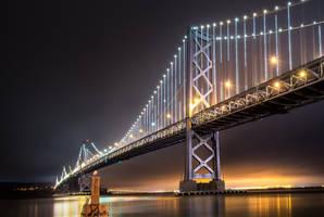 Bay Bridge, lights by alierturk