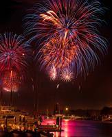 San Francisco fireworks remade by alierturk