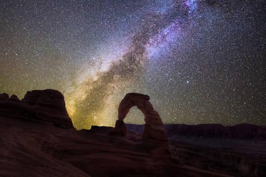 interstellar, Delicate Arch