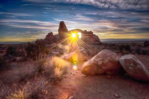 Arches, light through by alierturk