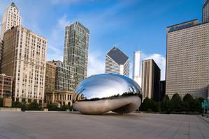 Chicago Bean, center of attention by alierturk