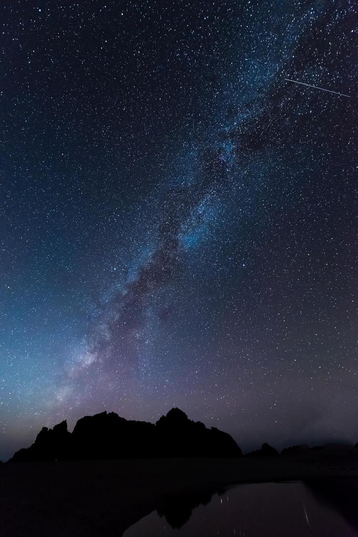 Big Sur, quite night by alierturk