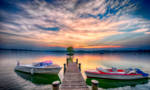 the end, Chiemsee, Bavaria