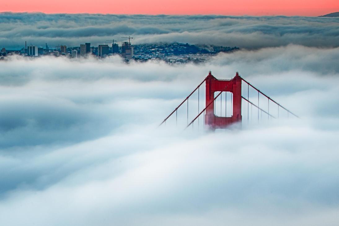 San Francisco, greeting the city II by alierturk