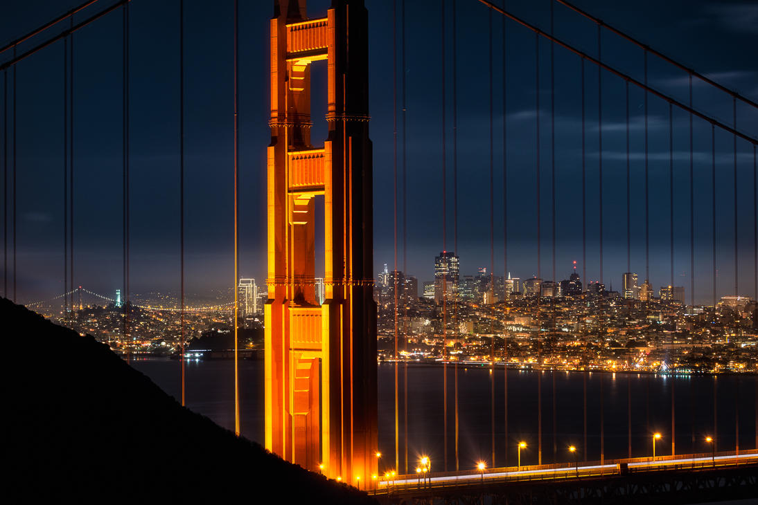 San Franciscco, beyond the wire by alierturk
