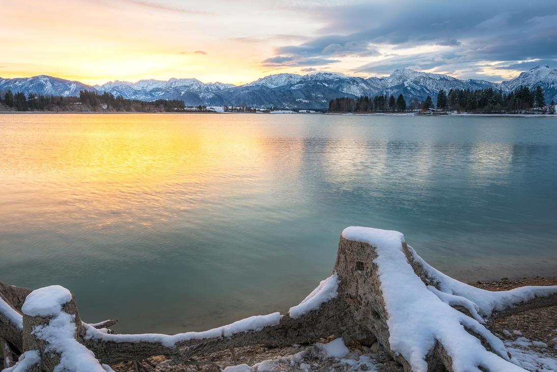 Forggen Lake, Bayern by alierturk