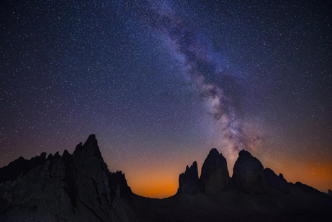 Tre Cime, 3 theeth by alierturk