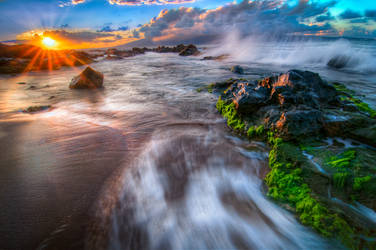 Hawaii, the flow II by alierturk
