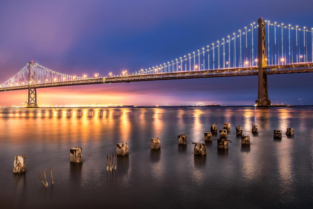 Bay Bridge, San Francisco by alierturk